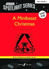 Minibeast Christmas, A: Junior Spotlight Series - By Pam Wedgwood and Debbie Needle Cover