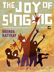 The Joy Of Singing (Book/2CDs) - By Brenda Rattray