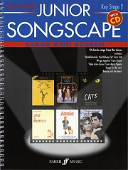 Lin Marsh Songscape Series - Junior Songscape Stage and Screen (Book and CD)