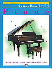 Alfred's Basic Piano Course - Lesson Book 5