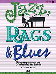 Jazz, Rags And Blues - Book 4 (Arr. Martha Mier)