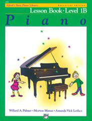 Alfred's Basic Piano Course - Lesson Book 1B Cover