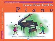 Alfred's Basic Piano Course - Lesson Book 1A Cover