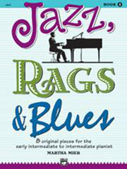 Jazz, Rags And Blues - Book 2 (Arr. Martha Mier)