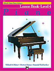 Alfred's Basic Piano Course - Lesson Book 4