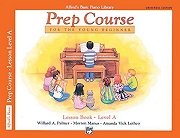 Alfred's Basic Piano Library - Prep Course Level A Cover