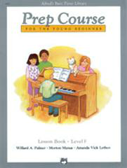Alfred's Basic Piano Library - Prep Course Level F