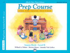 Alfred's Basic Piano Library - Prep Course Level B Cover