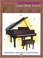Alfred's Basic Piano Course - Lesson Book 6
