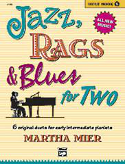 Jazz, Rags And Blues for Two - Book 1 (Arr. Martha Mier)
