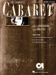The Complete Cabaret Collection - Vocal Selections/Souvenir Edition Cover