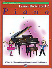 Alfred's Basic Piano Course - Lesson Book 2
