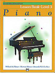 Alfred's Basic Piano Course - Lesson Book 3