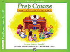 Alfred's Basic Piano Library - Prep Course Level C Cover