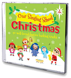 Our Singing School - Christmas Backing Tracks 2 CD Set Cover