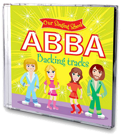 Our Singing School - ABBA Backing Tracks CD Cover
