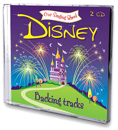 Our Singing School - Disney Backing Tracks 2 CD Set Cover