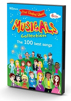 Our Singing School - Musicals Collection Backing Tracks 6 CD Set