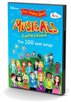 Our Singing School - Musicals Collection Backing Tracks 6 CD Set Cover