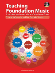 Teaching Foundation Music - Ann Bryant (Book and CD) Cover