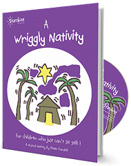 A Wriggly Nativity - By Peter Fardell Cover