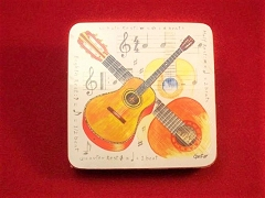 Classical Guitar Coaster Set (Pack of 4)