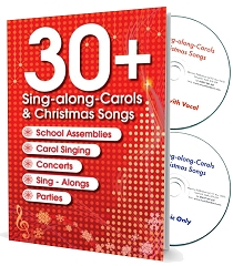 30+ Sing-along Carols and Christmas Songs - With 2 Backing/Vocal CDs and Music/Lyric Booklet
