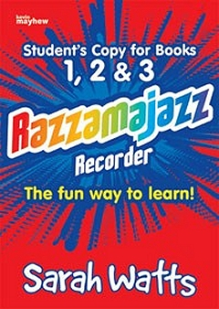 Razzamajazz Recorder - Student Books 1, 2 And 3 - Sarah Watts