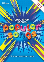 Cool Choir Library - Popular Songs (with CD) Cover