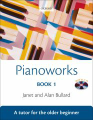Janet And Alan Bullard: Pianoworks - Book 1. Sheet Music, CD