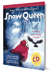 Hans Christian Andersen's Snow Queen - By Kaye Umansky, Ana Sanderson and Stephen Chadwick Cover