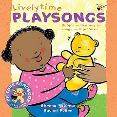 Livelytime Playsongs - Actions Songs and Rhymes for Babies and Toddlers (Book and CD) Cover
