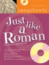 History Songsheets - Just Like a Roman Cover
