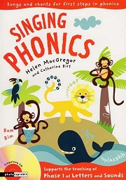 Singing Phonics (Book 1) - By Helen MacGregor and Catherine Birt