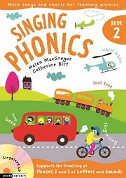 Singing Phonics (Book 2) - By Helen MacGregor and Catherine Birt