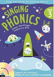 Singing Phonics (Book 3) - By Helen MacGregor and Catherine Birt