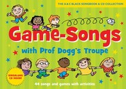 Game Songs With Professor Dogg's Troupe - Harriet Powell (Book/CD) Cover