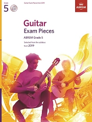 Guitar Exam Pieces from 2019, ABRSM Grade 5, with CD