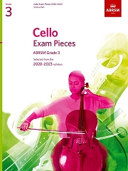 Cello Exam Pieces 2020-2023, ABRSM Grade 3, Score and Part