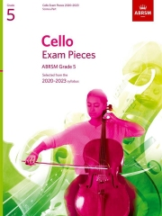 Cello Exam Pieces 2020-2023, ABRSM Grade 5, Score and Part