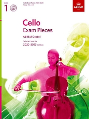 Cello Exam Pieces 2020-2023, ABRSM Grade 1, Score, Part and CD