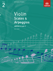 Violin Scales and Arpeggios, ABRSM Grade 2