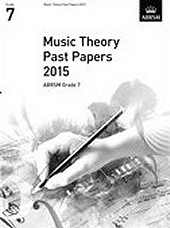 Music Theory Past Papers 2015, ABRSM Grade 7