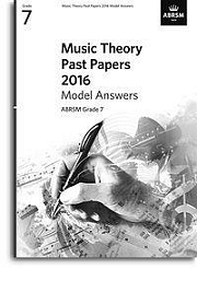 Music Theory Past Papers 2016, ABRSM Grade 7