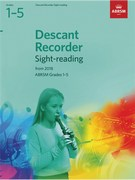 Descant Recorder Sight-Reading Tests, ABRSM Grades 1-5