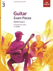 Guitar Exam Pieces from 2019, ABRSM Grade 3
