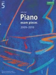 ABRSM: Selected Piano Examination Pieces 2009-2010 - Grade 5 (Book Only)