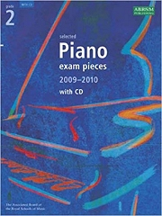 ABRSM: Selected Piano Examination Pieces 2009-2010 - Grade 2 (Book and CD)