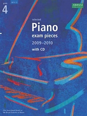 ABRSM: Selected Piano Examination Pieces 2009-2010 - Grade 4 (Book and CD)