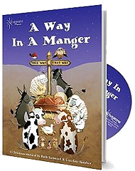 A Way In A Manger - By Ruth Kenward and Caroline Kimber Cover